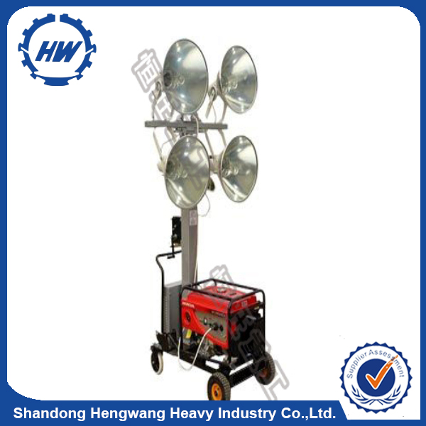 High quality moving head lighting Waterproof light tower used solar street light for sale