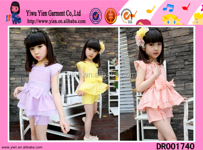 New Lovely Girls Sleeveless Fashion Butterfly Printing Frocks Design For Girls