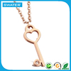 Top Selling Products In Alibaba Rose Gold Key Pendant Necklace Meaning