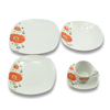 China style fine porcelain dinner set with decals wholesale