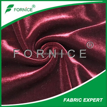 4 Way Stretch Solid Velvet fabric