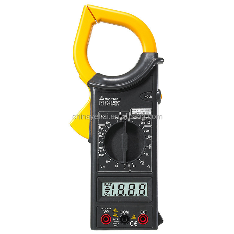 Tools clamp meter electronic digital clamp meter YH266F clamp meter wholesale 266 V&A