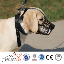 Prevent Biting & Barking soft rubber dog muzzle