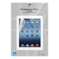 EXCO Anti Glare Transparent Screen Protector for New iPad/iPad2