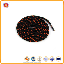 Eco-friendly custom round shoelace promotional polyester material shoelace for sports shoes