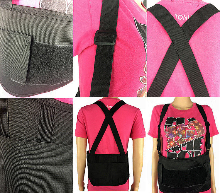Reflective Lumbar Aidbrace Back Brace Support Belt for workout