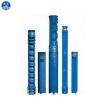 Multistage vertical submersible deep well water pump
