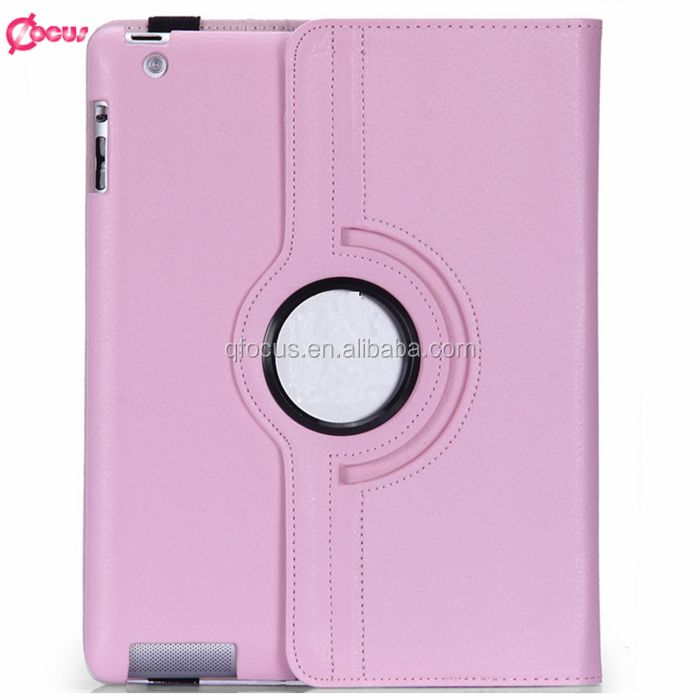 Fashion tablet cases for <strong>ipad</strong> cases rotate 360 degree leather case for <strong>iPad</strong> 2/3/4