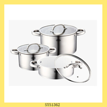 New design white enamel cookware with low price