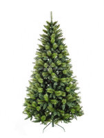 6ft fashionable pine needle mixed pvc leaves artificial christmas tree