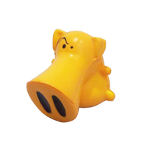 Fully Custom Made Logo and color Anti Stress Ball,Long nose pig PU Stress Ball