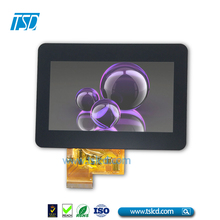 4.3 inch TFT touch screen LCM with CTP and 480*272 for game machine