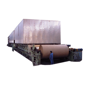 Popular used kraft paper manufacturing machinery with waste paper deinking machine