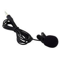 Mini 3.5mm Tie Lapel Lavalier Clip Microphone microfone for Lap Top PC Cell phone
