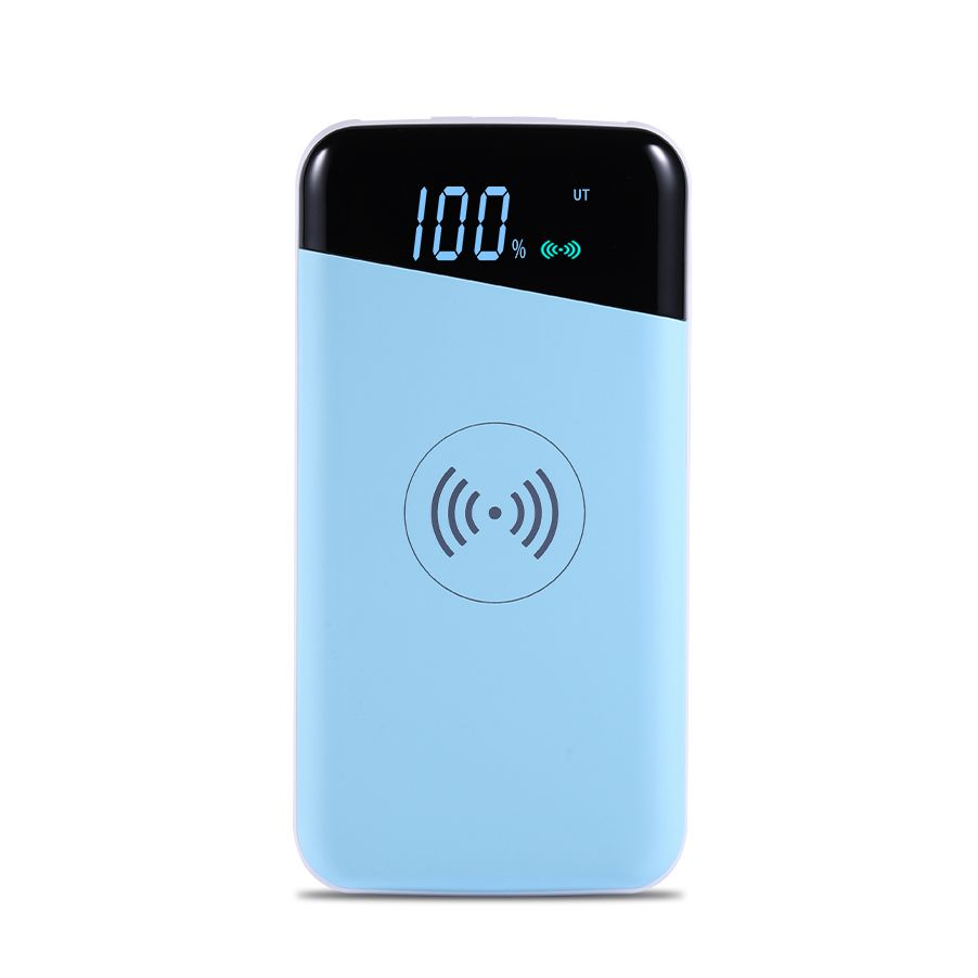 Mobile Battery Pack qi wireless charger 10000mah power bank supply 2 in 1 Wireless Charging Power Bank
