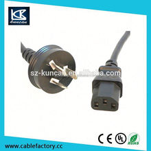 AC Power cords 240v power extension cord for USA/UK/Europe/Austrilia Shenzhen Supplier