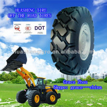 Bias nylon Off the road tire 10.00-16 OTR tyre price used for loaders bulldozers scrapers and heavy duty dump trucks