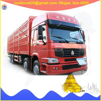 After-sale service available China sinotruck howo ZZ2317N3877D1one cab 8*4 30tons lorry trucks for sale