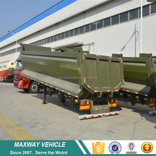 New type 60 ton capacity side dump semi-trailer