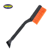 Plastic ABS Ice Scraper Snow Brush for Car Cleaning