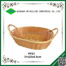 Cheap bulk plastic wicker baskets for bread