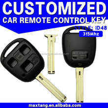 315Mhz ID48 3 Buttons MTF-100732 T Remote Car Key Duplicate Car Key Maker 315Mhz Chip ID48