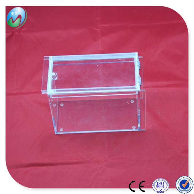 Custom tiny rectangular clear acrylic stackable candy storage bins wholesale