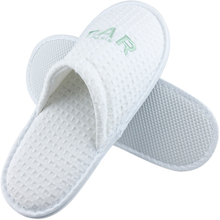 5 star custom washable hotel <strong>slippers</strong> with embroidered logo and brand