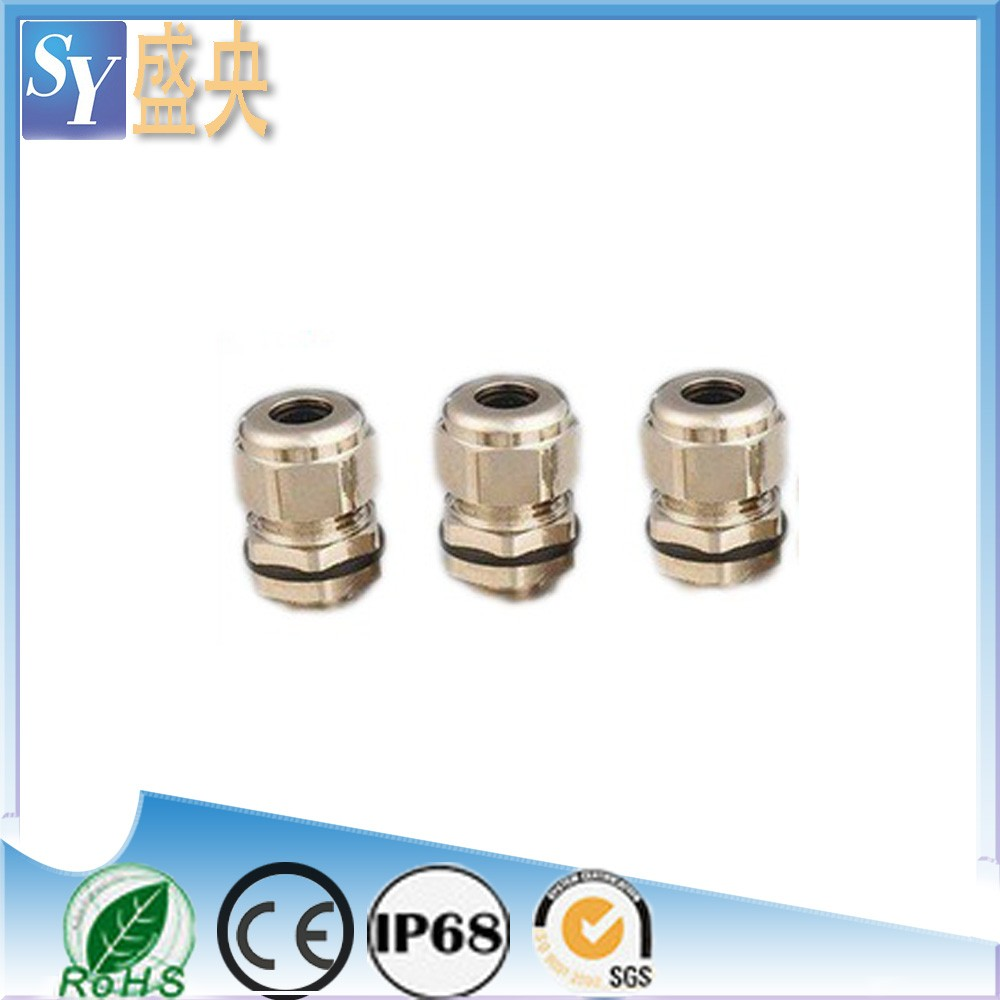 G Thread Gland Size For Cables WaterproofJunction Box Brass Cable Gland Size