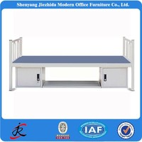 factory price metal material single cot bed size
