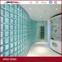 High quality clear and colored best price decorative glass brick