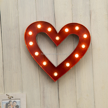outdoor decor light up letters wedding