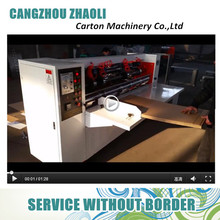 Corrugated Cardboard Thin Blade Slitter Scorer / Carton Box Making Machine Prices