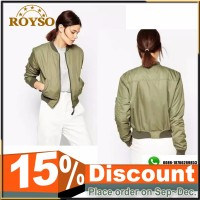 Hot Sale Custom Fashion Casual Softshell Ladies Girls Women's Coaches Bomber Jacket Coat for Women