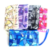 Smart Prined Handle Women PU Zipper Wallet