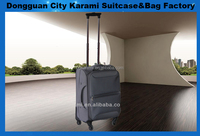 nylon soft luggage/ carryon with 4 wheels/trolleycase with expander/ upright with aluminium trolley 20'24'28