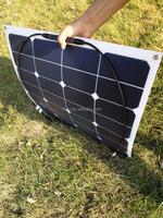 USA sunpower 5160*889*1.5 photovolatic 65w flexible solar panel