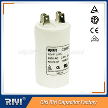 Steady electricity performance ac capacitor 450v 10uf 5uf