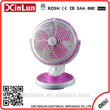 China Professional Supplier Customized electric mini fan with 3-Wing PP Blades