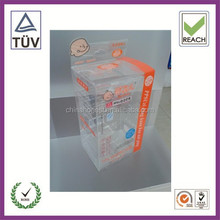 Custom Top Quality Rectangular Acetate Dust-free Clear Box for baby bottle product In Guangzhou