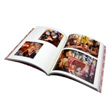 Custom matte art paper full color A4 book printing service