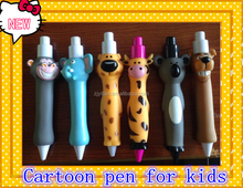 Popular Animal shaped pen for kids,cartoon pens,fancy pens