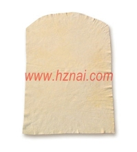 white color French Cut style nature Chamois leather china manufacture price