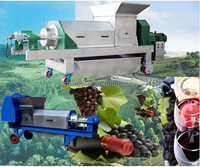 fruit squeezer/ginger extractor/fruit press machine with screw system