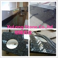 High quality blue granite stone pearl table tops