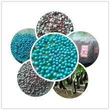 low price high quality npk compound fertilizer 12-12-18 blue color