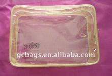 China products PVC 2.5mil thickness plastic waterproof ziplock bag
