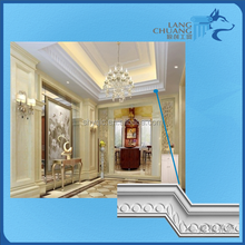 Popular Design Coustomizable Indoor Decorative Material Gypsum Mouldings