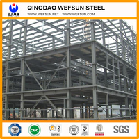 light metal building construction gable frame prefabricated industrial steel