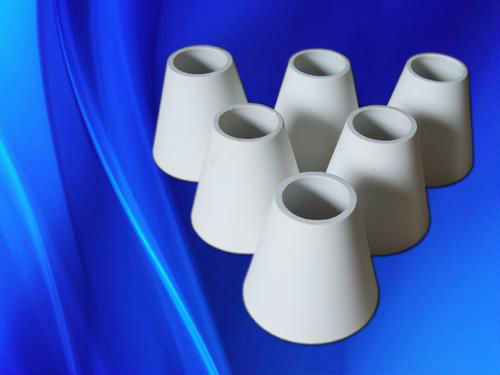 Superior quality alumina cone shape pipe/tube